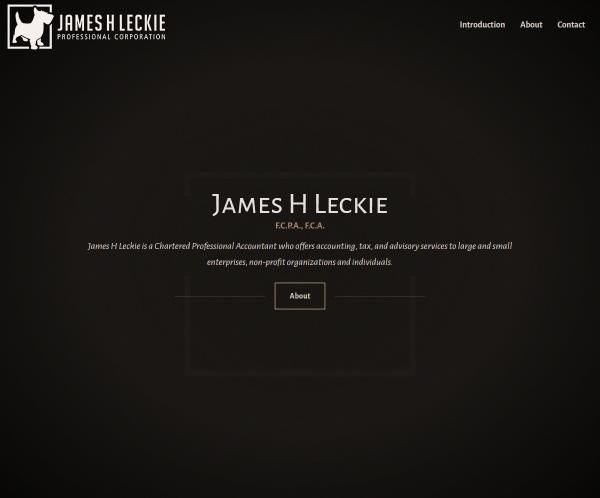 James H Leckie